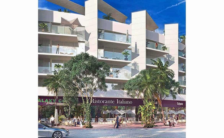Miranda facade Commercial View