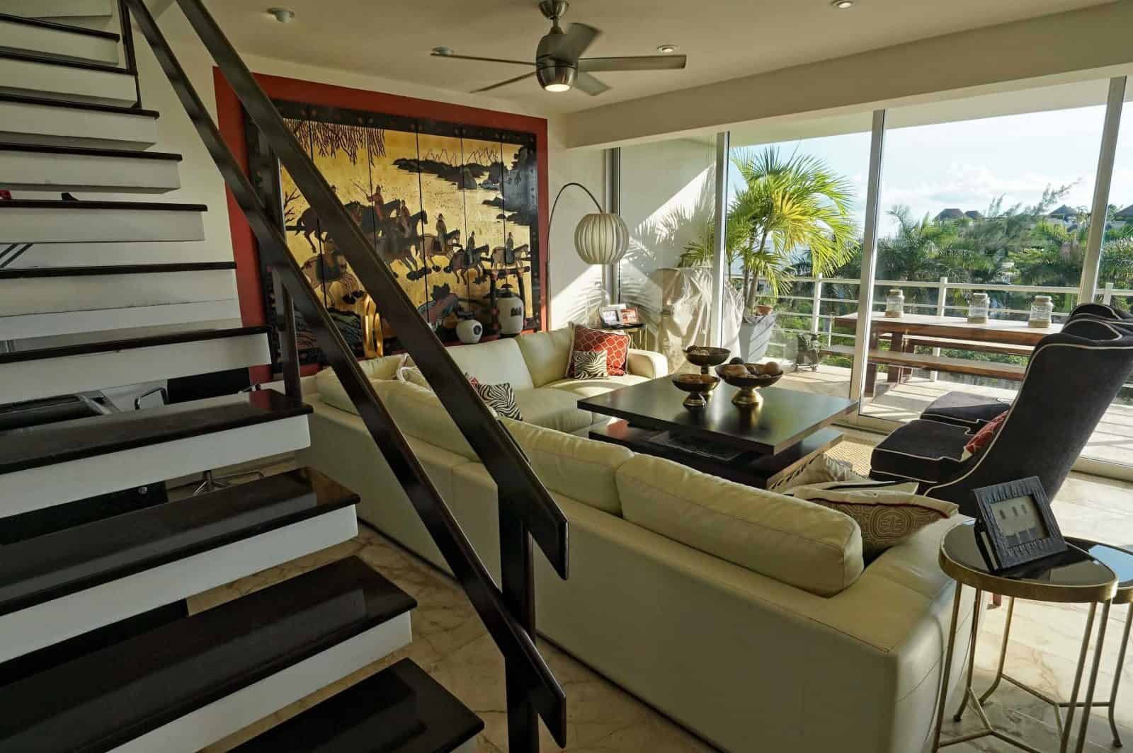 Magia Penthouse living on 2 levels