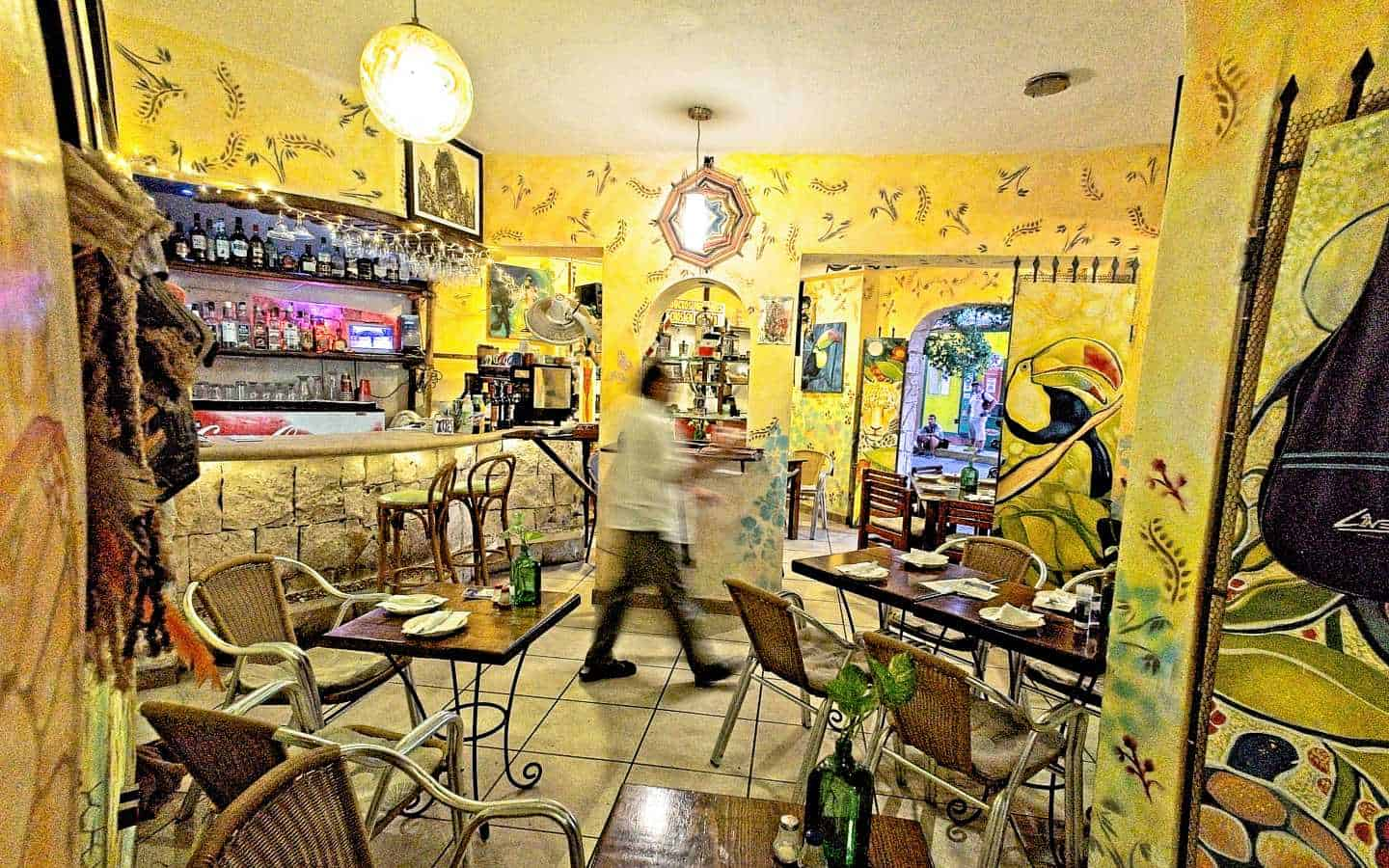 Casa Tucan restaurant with complete commercial kitchen