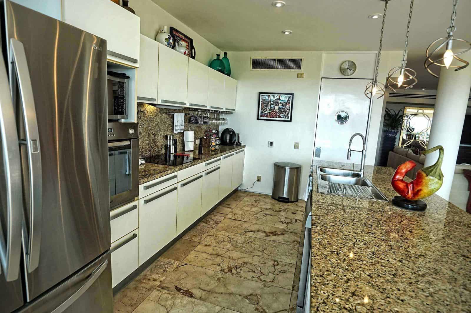 Magia penthouse kitchen
