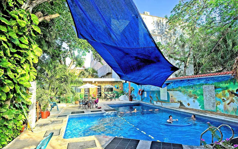 Casa Tucan huge pool