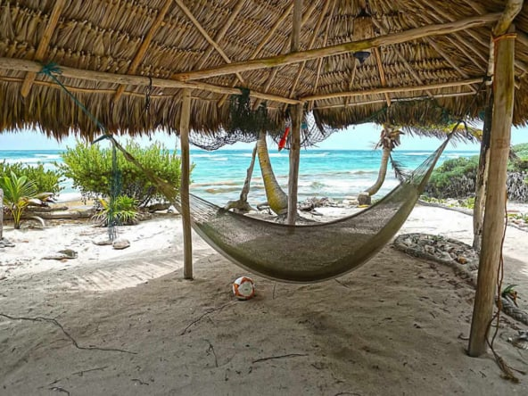 Chenchomac expansive yard Caribbean side