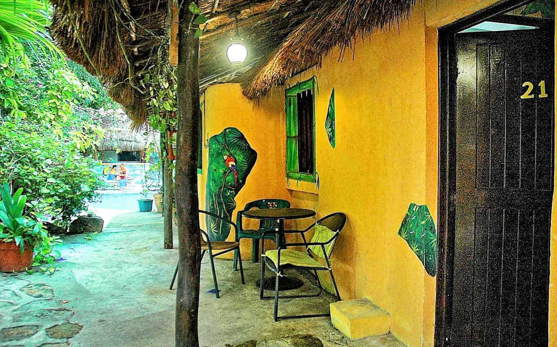 Hotel Casa Tucan wall murals everywhere