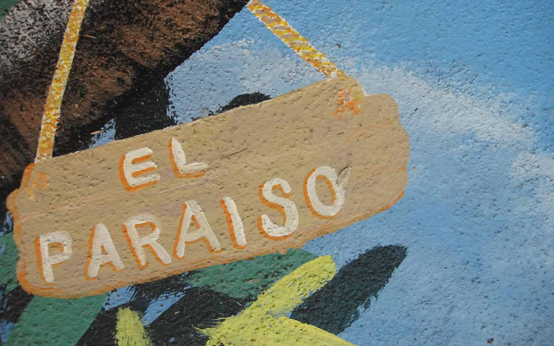 Hotel Casa Tucan wall murals are everywhere