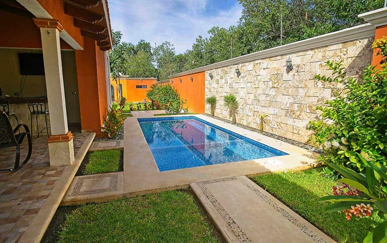 Hacienda Xcaret pool