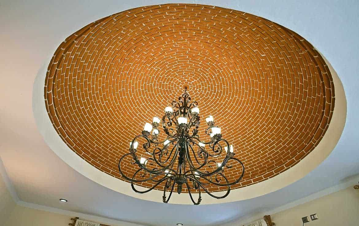 chandelier and cupola