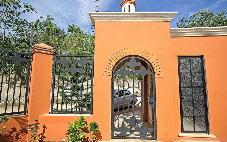 entrance guard building