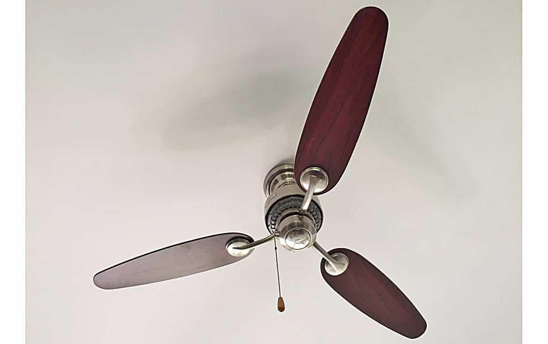 Designer ceiling fans.