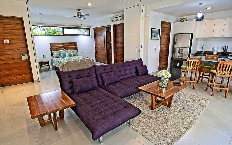 Living room to bedroom.