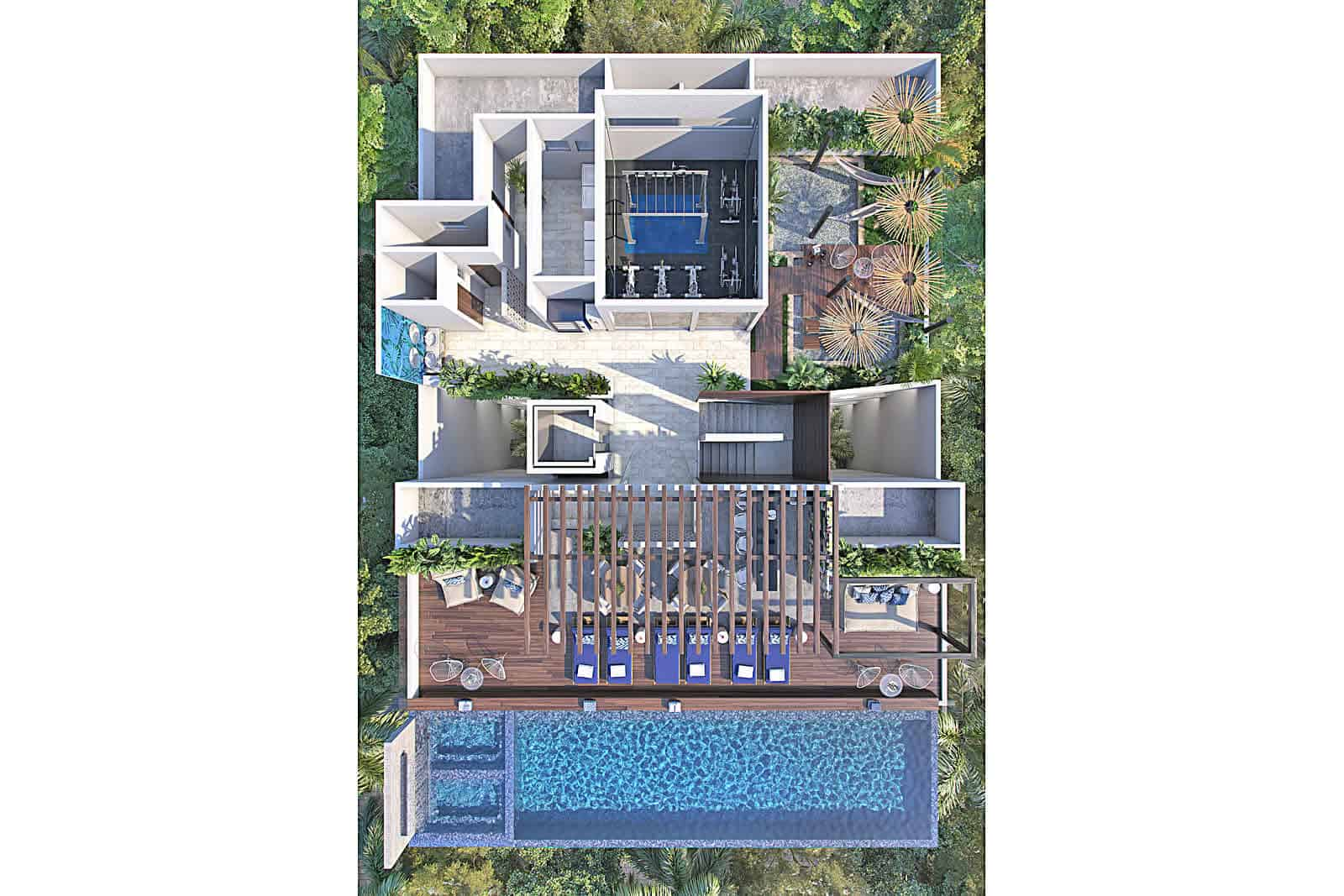 Piedrazul rooftop pool & lounge